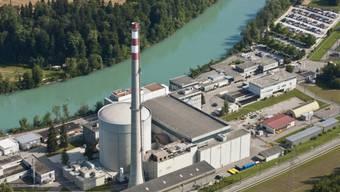 Das Atomkraftwerk Mühleberg an der Aare bei Bern (Archivbild).