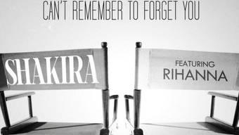 Ankündigung der Single von Shakira und Rihanna (Twitter)