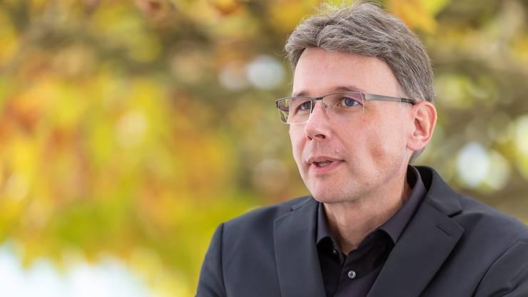 18. Oktober 2020: Dieter Egli als frischgewählter Regierungsrat.