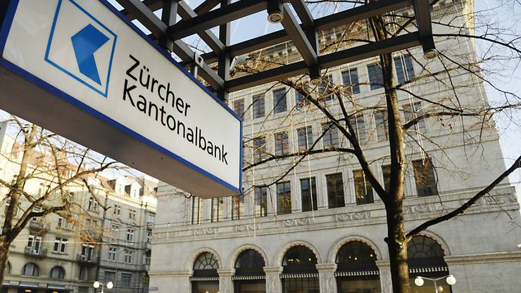 Nicht am Zürcher Paradeplatz, aber an anderen Standorten in Zürich schliesst die Zürcher Kantonalbank in den nächsten zwei Jahren Filialen. (Archiv)