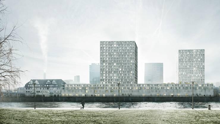 2014/15 hatte das Amt für Hochbauten einen Architekturwettbewerb durchgeführt, aus dem Morger und Dettli Architekten AG aus Basel (heute Morger Partner Architekten AG) als Sieger hervorgingen. (Archiv)