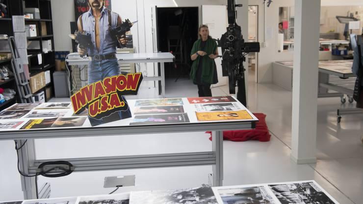 Die Cinémathèque suisse weiht ihr neues Archiv- und Forschungszentrum ein. (Keystone/LAURENT GILLIERON)