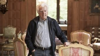 84-jährig und kein bisschen müde: Edwin Somm, Ex-CEO ABB Schweiz, (hier in der Villa Boveri in Baden) kämpft leidenschaftlich gegen das neue Energiegesetz.