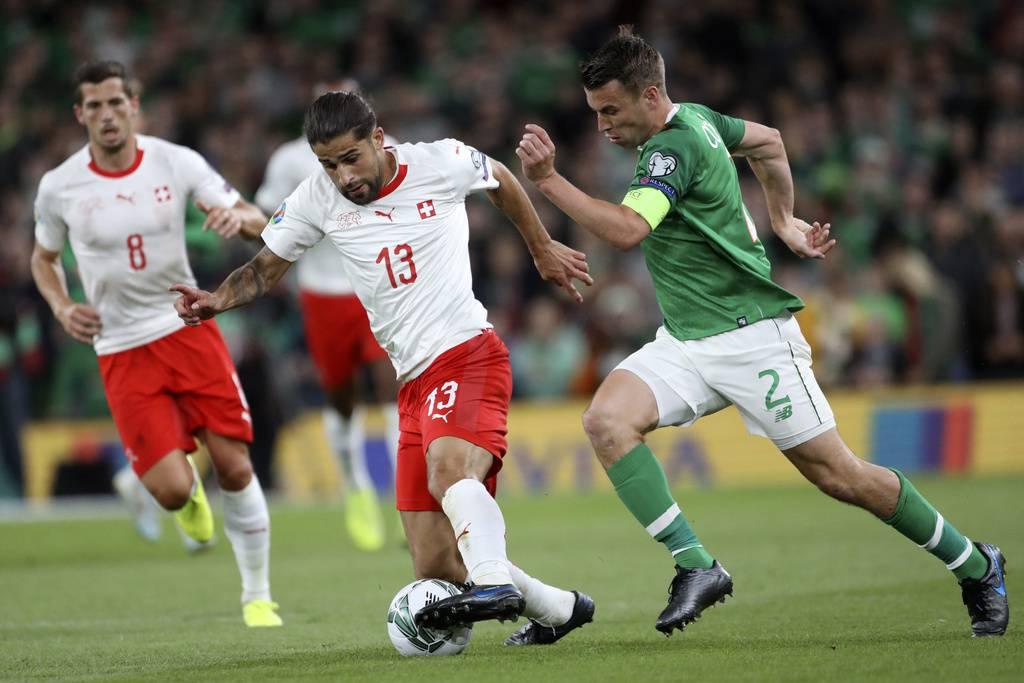 EM-Qualifikation: Irland-Schweiz (© Keystone/Georgios Kefalas)