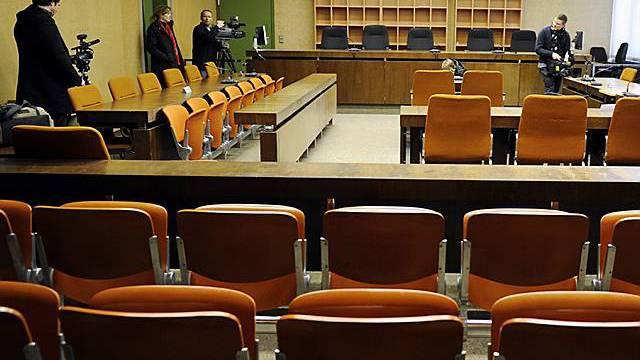 Das Landgericht München, wo der Prozess gegen die Schweizer stattfindet (Archiv)