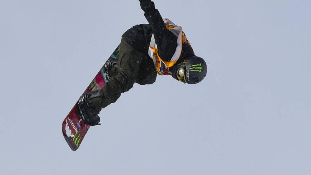 Ayumu Hirano verhinderte mit einem starken dritten Durchgang einen Schweizer Doppelsieg in Laax