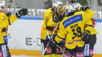 Die Berner freuen sich über den zweiten Sieg hintereinander