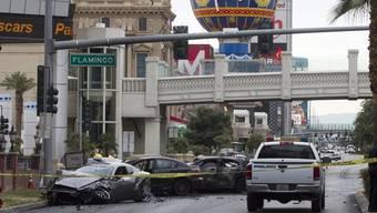 Die Schiesserei fand zwischen den Insassen eines Maserati und eines Land Rover statt