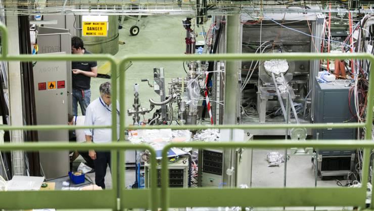 Das Alpha-Experiment am Teilchenforschungszentrum Cern bei Genf.
