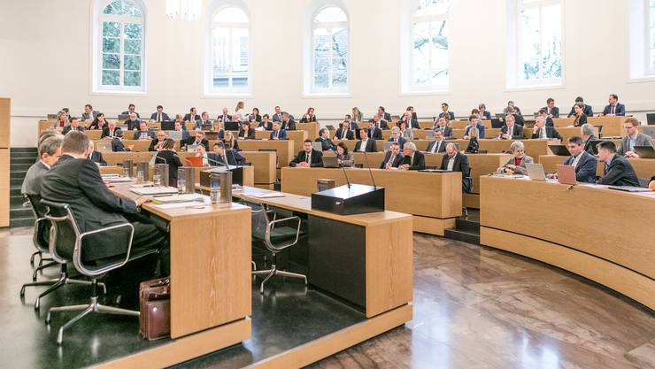 Die grosse AKB-Debatte im Grossen Rat.