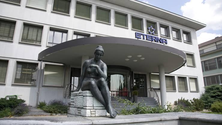 Die Uhrenfabrik Eterna mit Sitz in Grenchen hat turbulente Zeiten hinter und wohl vor sich.