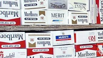 Schmuggelware - Zigaretten