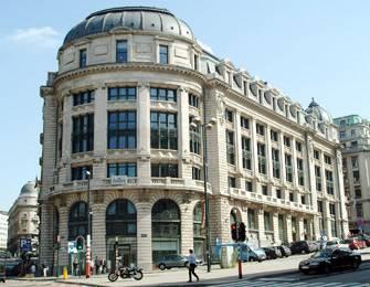 Erste Business Center in Brüssel