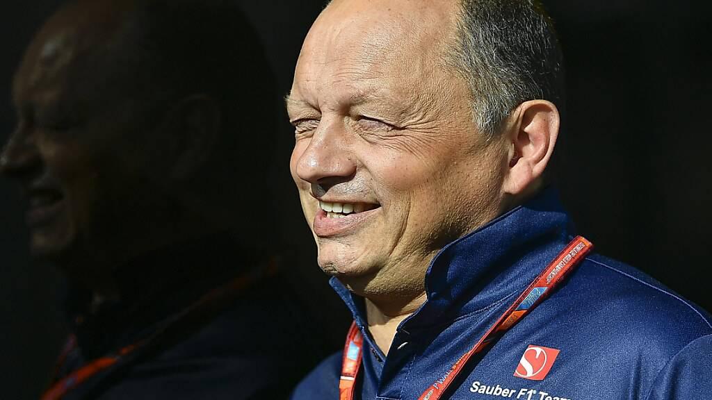 Alfa-Romeo-Teamchef Frédéric Vasseur hat mit der Besetzung des zweiten Cockpits keine Eile
