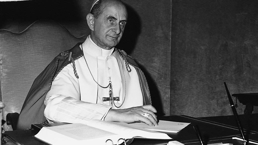 Papst Paul VI. heiliggesprochen