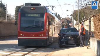 Unfall in Solothurn - Zusammenstoss zwischen Auto und Bipperlisi