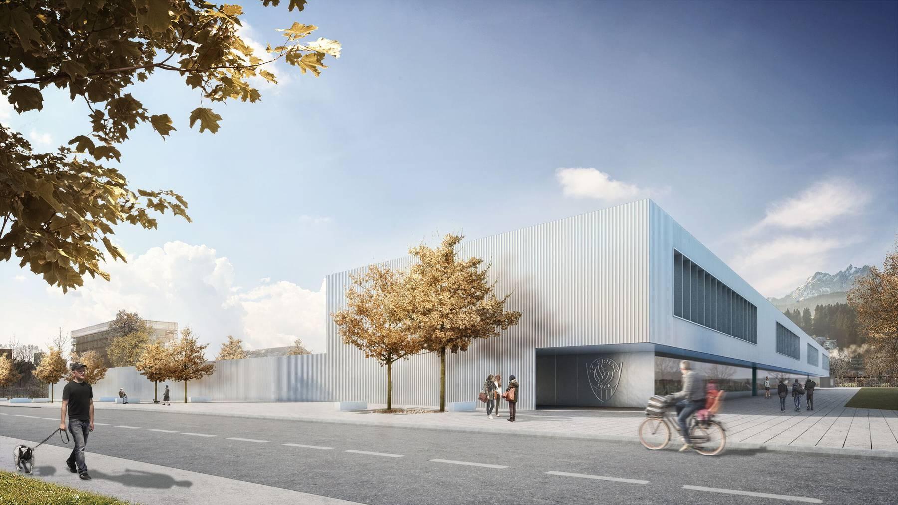 Stadion Kleinfeld in Kriens nimmt erste Hürde