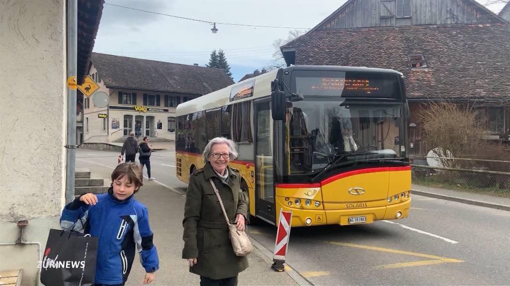 Maschwanden hat die unrentabelste ÖV-Strecke im Kanton Zürich