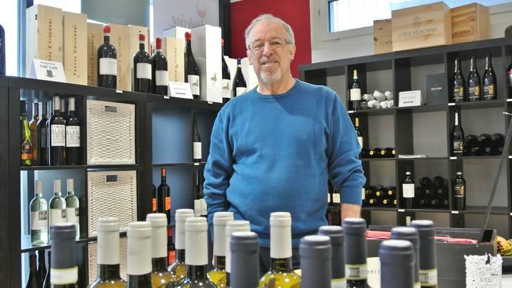 Seit 2009 bedient Bruno Lüscher die Kunden an der Badenerstrasse. Doch Ende Februar wird das Geschäft im Zentrum von Fislisbach dichtmachen. Carla Stampfli