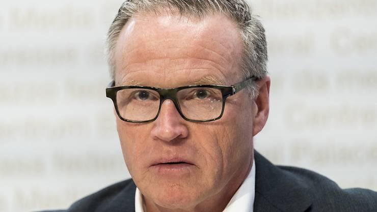 Mitten in der Corona-Krise hat SBB-Chef Andreas Meyer seinen letzten Arbeitstag. (Archiv)