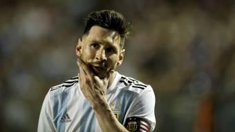 Lionel Messi hat sich für die Absage des Testspiels gegen Israel ausgesprochen.