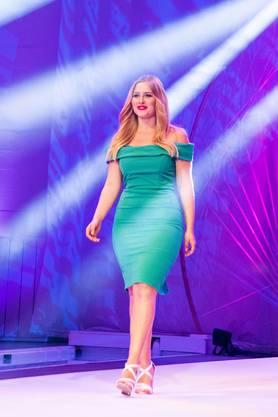 Bei der RTL-Castingshow trat Vera als Blondine auf den Catwalk.