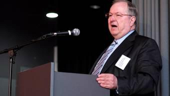 Heinz Buschkovsky (Autor des Buchs «Neukölln ist überall») sprach im Union in Basel.