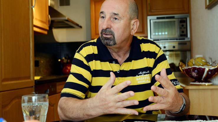 Zivko Nenic sucht seit März 2012 einen neuen Arbeitsplatz – bislang vergeblich.