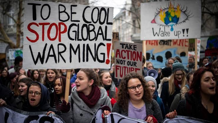 Die Klimaaktivisten erhalten derzeit viele Spenden.