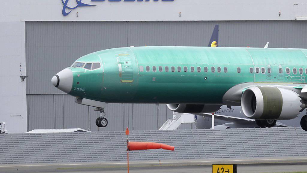 Testflug einer Boeing-Maschine des Typs 737-MAX 8 in Seattle im US-Bundesstaat Washington. (Archivbild)