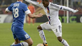 Serey Die im Europa-League-Spiel gegen Dnipropetrowsk.