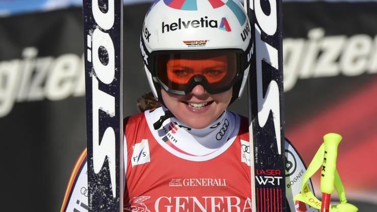 Viktoria Rebensburg triumphiert vor eigenem Publikum erstmals in einer Weltcup-Abfahrt