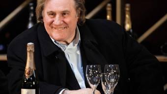 Gérard Depardieu ist verliebt ins Leben (Archiv)