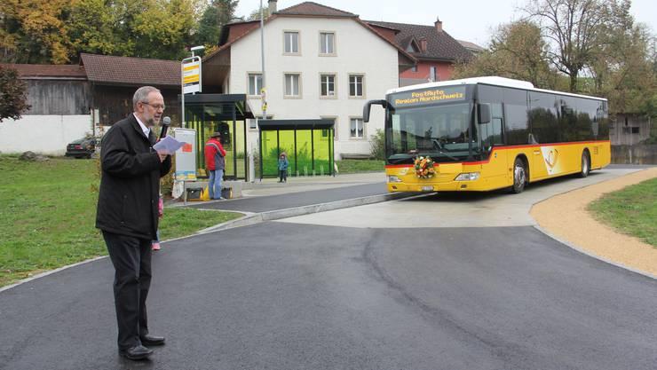 Martin Brändli von Postauto Nordschweiz sagt, dass die Gemeinden beim öffentlichen Verkehr viel zu sagen haben