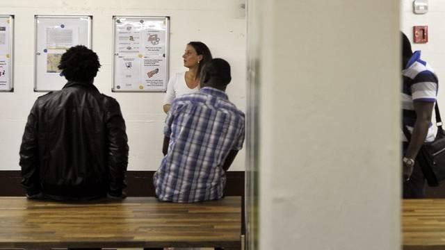 Asylunterkunft: Die Zahl der Gesuche sank im Juni (Archiv)