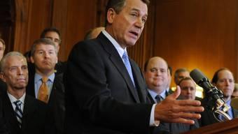 Zu Gesprächen bereit: republikanischer Parlamentspräsident John Boehner in Washington