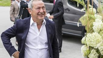 Orascom-Chef Samih Sawiris kann eine deutliche Umsatzsteigerung seines Tourismus- und Immobilienkonzerns im 2018 verkünden. Dennoch blieb das Unternehmen in den roten Zahlen. (Archiv)