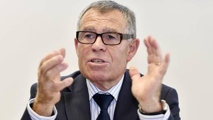 Der diplomierte Meisterlandwirt Ernst Stocker ist der oberste Finanzdirektor der Kantone.