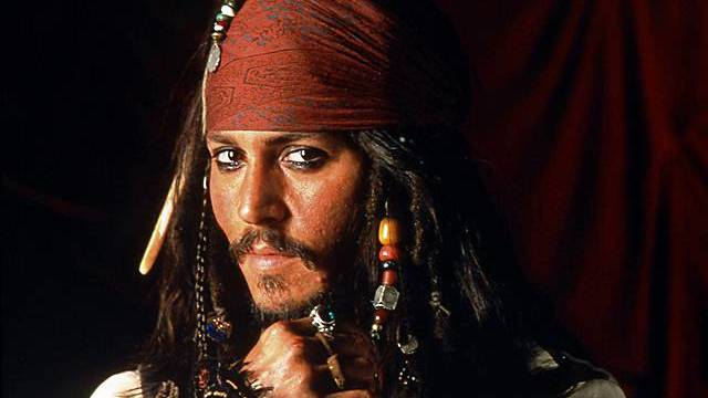 """Johnny Depp als Jack Sparrow in """"Pirates of the Carribean"""" (Archiv)"""