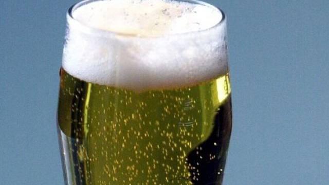 Ein Glas Bier (Symbolbild)