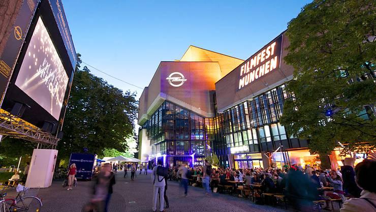 Das Festivalzentrum Gasteig, wo am Samstag das Filmfest München mit der Preisverleihung zu Ende ging (Archiv)