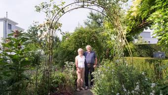 Anita und Ueli Schibli zeigen ihr Gartenparadies