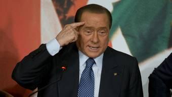 Der frühere italienische Regierungschef Berlusconi (Archiv)