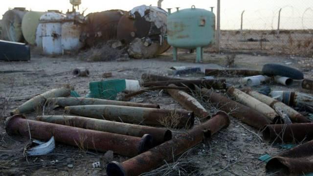 Die einstige Chemiewaffenfabrik Al-Muthanna ist verrottet (Archiv)