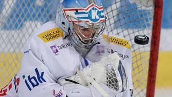 Zweiter Saison-Shutout für Kloten-Goalie Jonas Müller