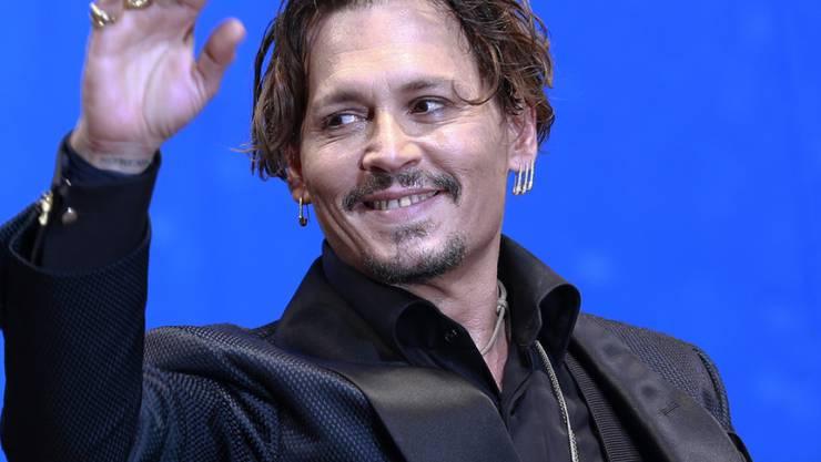 Er kann auch singen: Johnny Depp tritt mit seiner Band Hollywood Vampires am 52. Montreux Jazz Festival auf. (Archivbild)