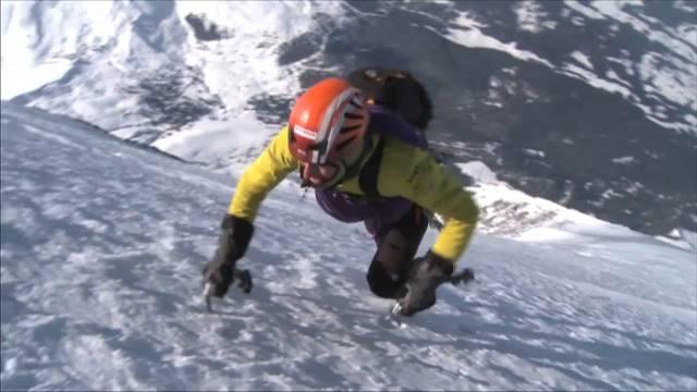 Extrem: Ueli Steck am Berg.