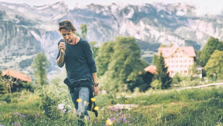 Marcus Pan plante und gestaltete auf der Schweibenalp die alpinen Permakultur-Gärten.