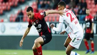 Die Neuenburger Lebensversicherung: Raphaël Nuzzolo (links) ist einer der besten Super-League-Stürmer.