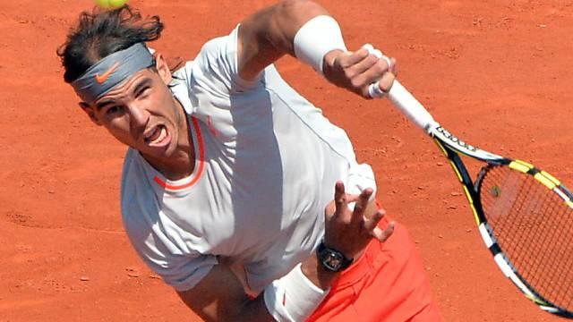 Rafael Nadal steht zum achten Mal im French-Open-Final.